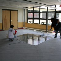 Preparing the surface